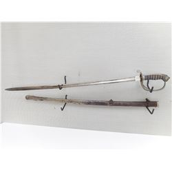 BRITISH 1845 PATTERN INFANTRY OFFICERS SWORD