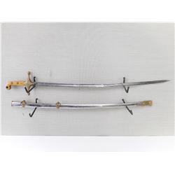 UNITED STATES MARINE MANELUKES SWORD WITH SCABBARD