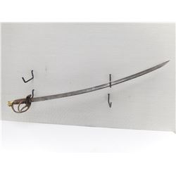 INDIAN MADE REPRODUCTION OF CONFEDERATE SWORD AND SCABBARD