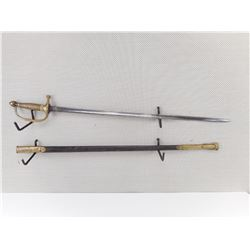 US MUSICIANS SWORD 1840 PATTERN WITH SCABBARD