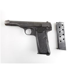 WWII ERA, BROWNING , MODEL: 1922 , CALIBER: 7.65MM