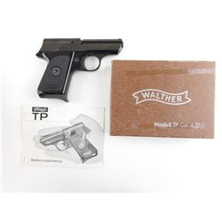 WALTHER  , MODEL: TP  , CALIBER: 6.35MM
