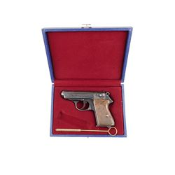 WALTHER  , MODEL: PPK , CALIBER: 9MM  BROWNING SHORT