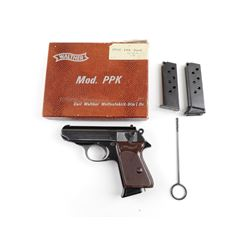 WALTHER  , MODEL: PPK L , CALIBER: 7.65MM