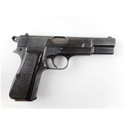 WWII ERA, FN BROWNING  , MODEL: 1935 HIGH POWER P640b , CALIBER: 9MM LUGER