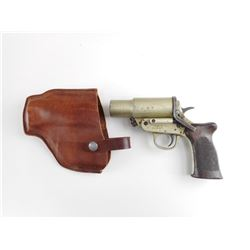 HARRINGTON & RICHARDSON MK III A, WWII ERA, CANADIAN FLARE PISTOL