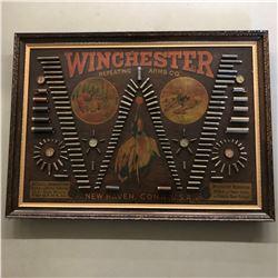RARE, 1890 ORIGINAL WINCHESTER CARTRIDGE BOARD