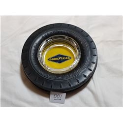 GOODYEAR TIRE ASHTRAY (YELLOW)