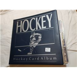 ALBUM FULL OF MIXED SPORTS CARDS (HOCKEY, BASEBALL) *77 PAGES*