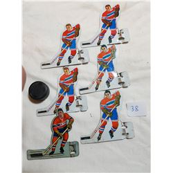 MONTREAL CANADIANS TIN (HOCKEY PLAYERS)