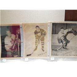 "MAPLE LEAFS PLAYERS (LATE 40'S) *10"" X 8""*"