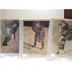 MONTREAL CANADIANS PHOTOS (LATE 40'S)