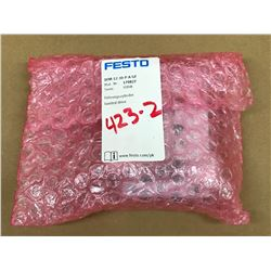FESTO DFM-12-30-P-A-GF PNEUMATIC GUIDED CYLINDER