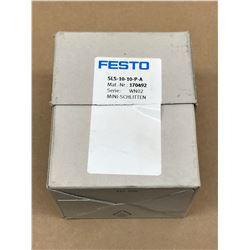 FESTO SLS-10-10-P-A MINI SLIDE ASSEMBLY