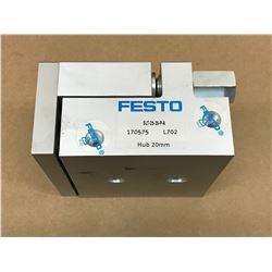 FESTO SLT-25-20-P-A GUIDED CYLINDER