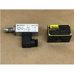 (2) MISC. SOLENOID VALVE *SEE PICS FOR PART #*