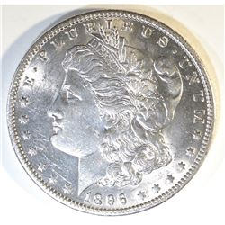 1896-O MORGAN DOLLAR AU/BU