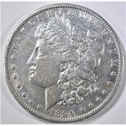 1894 MORGAN DOLLAR AU