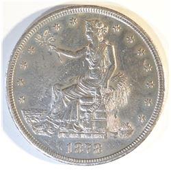 1878-S TRADE DOLLAR CH AU