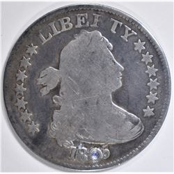 1805 BUST QUARTER VG DAMAGE BY DATE