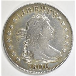 1806 BUST QUARTER VF/XF SOFT STRIKE