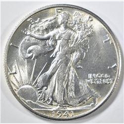1941-S WALKING LIBERTY HALF DOLLAR CH BU