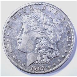 1903-S MORGAN DOLLAR AU KEY DATE