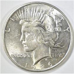 1926-D PEACE DOLLAR, BU