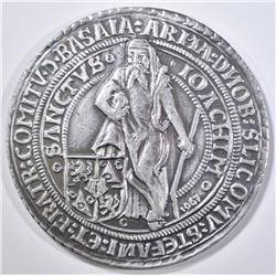 1520-1967 LARGE SILVER MEDIEVAL DUCATON COMMEM
