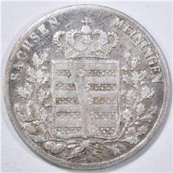 1835 SILVER 3 KREUZER SAXE-MEININGEN