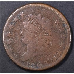 1808 LARGE CENT VG  CORROSION