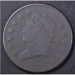 1810 LARGE CENT FINE  DARK
