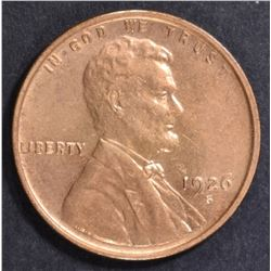 1926-S LINCOLN CENT  BU RB