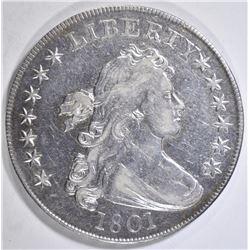 1801 BUST DOLLAR XF