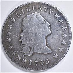 1795 FLOWING HAIR DOLLAR FINE