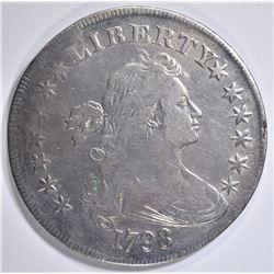 1798 BUST DOLLAR VF/XF