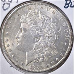 1884-O MORGAN DOLLAR, BU