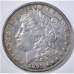 1893 MORGAN DOLLAR CH AU