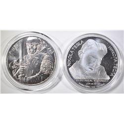 2018 SERBIA DINARA & 2019 AUSTRIA  EURO COINS
