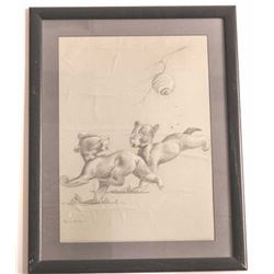 19DVM-7 ORIGINAL CHARCOAL BY ACE POWELL