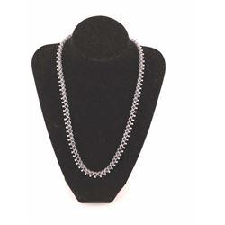 19RPS-10 SAPPHIRE & DIAMOND NECKLACE