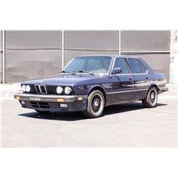 19ED-100 1988 BMW 535 IS E28
