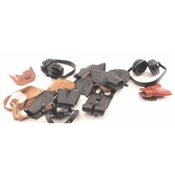 19KN-9 LEATHER LOT