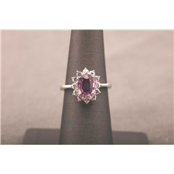 19RPS-34 PINK SAPPHIRE RING