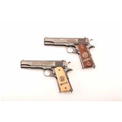 19KC-308 PAIR OF COLT WWI COMM. MDL 1911