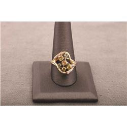 19RPS-21 MULTI-COLOR DIAMOND RING