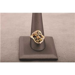 19RPS-21 MULTI-COLOR DIAMOND RING