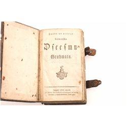 19LO-4 GERMAN PRAYER & HYMN BOOK