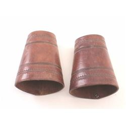 19LO-7 LEATHER CUFFS