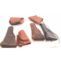 19KE-516 HOLSTER & CHEEKPIECE LOT
